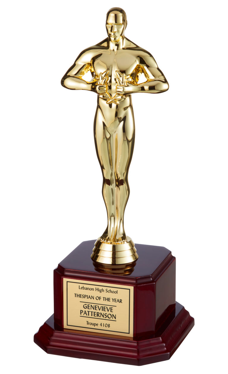 Educational-Theatre-Association-Thespian-of-the-Year-Trophy_daylight-photo